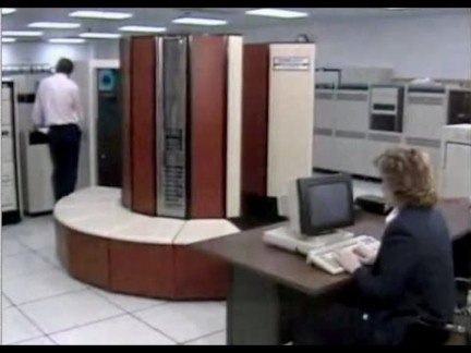Cray 1980s supercomputer